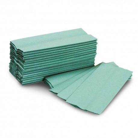 green paper towel