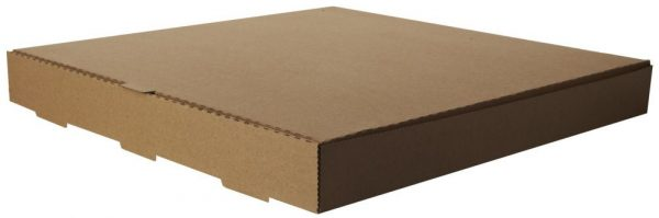 Fast food and pizza brown kraft pizza box Strong Kraft Pizza Box, Cardboard Takeaway Fast Food Postal Packaging Boxes