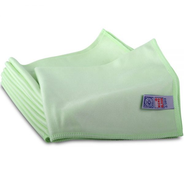 Microglass Commercial Cleaning Cloth - green