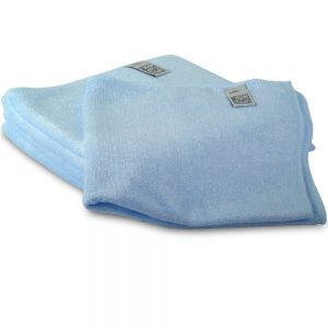 Microfibre Commercial Quality Cleaning Cloth - blue