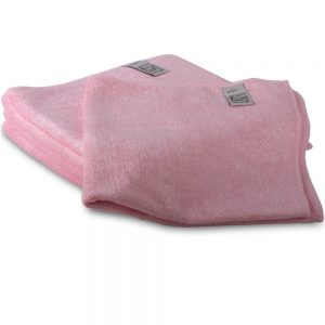 Microfibre Commercial Quality Cleaning Cloth - pink