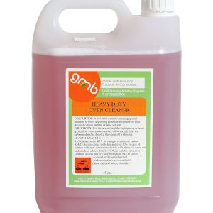 Heavy duty oven cleaner