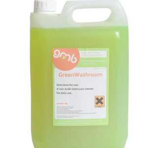 GreenWash apple bathroom cleaner