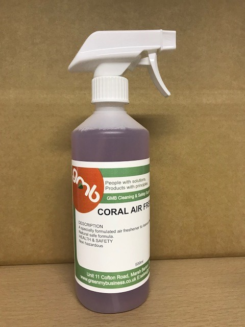 GMB Air Freshener Trigger Coral or Apple scent 500ml