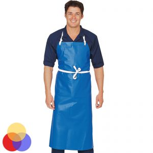 Blue Waterproof PVC Apron