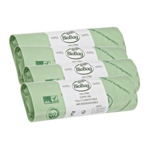 Biobag 140 litre Roll of 10