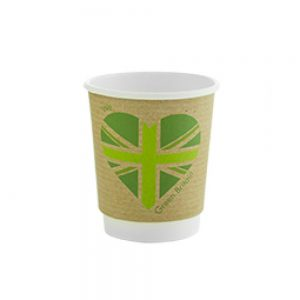 Compostable Cups Vegware Green Britain Double Walled