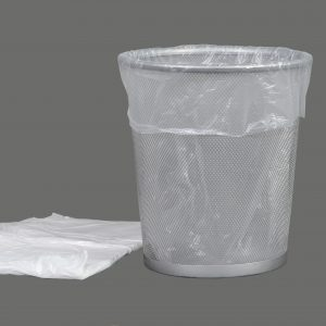 Pedal Bin Liners Light Duty 6mu Small 11x17x17""