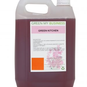 GreenKitchen Concentrated Bactericidal hard surface cleaner and Degreaser