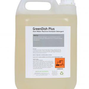GreenDish dishmachine liquid detergent phosphate free 5Litre