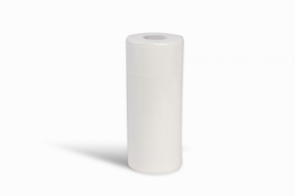 "White 25cm 10"" 2 Ply Hygiene Roll Medical Rolls Couch Rolls"