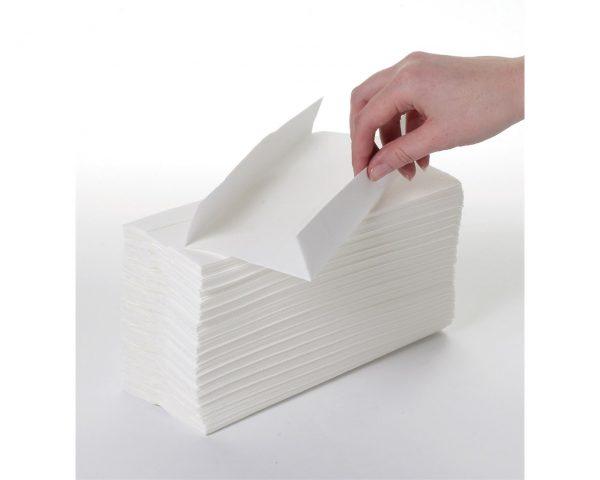 2ply White C Fold