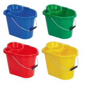 12 Litre Hygiene Mop Bucket and wringer