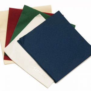 40cm 3ply Napkins Buttermilk Black Yellow DarkGreen Red Skyblue