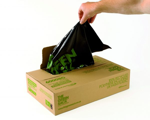 GREENSACK Extra Heavy Duty Refuse Sacks 18x29x39