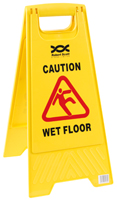 A Frame Wet Floor Sign