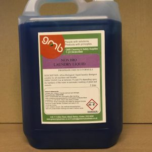 GMB Non Bio Laundry Liquid 5Litre
