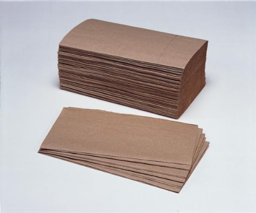 Kraft Natural 100% Recycled Interfolded Hand Towels 1ply 24.5x23cm 20packets x 250