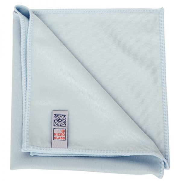 Blue Microglass Commercial Cleaning Cloth