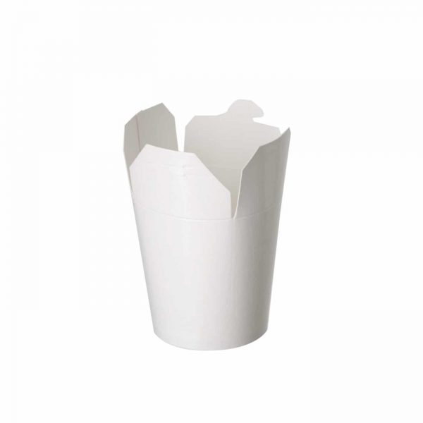 White Noodle Box 750ml (95MM) 26oz