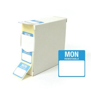 Monday square food labels