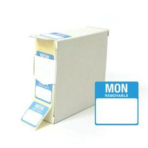 Monday square food labels