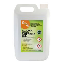 hand sanitising gel