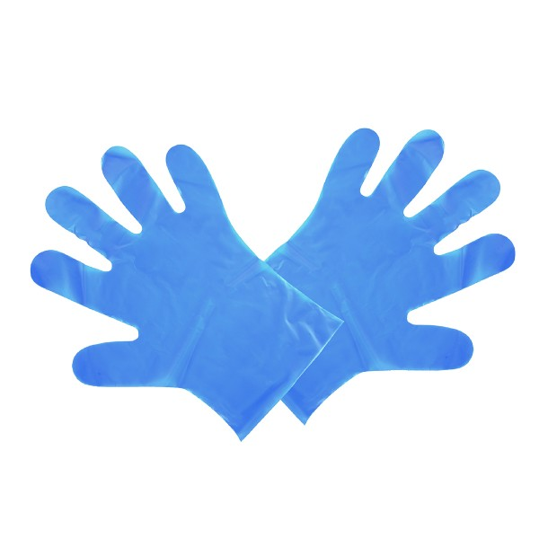blue vegware food prep gloves